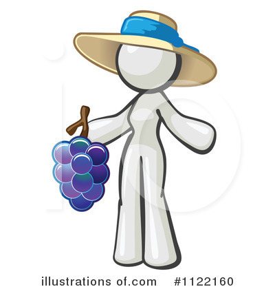 White Design Mascot Clipart #1122160 by Leo Blanchette