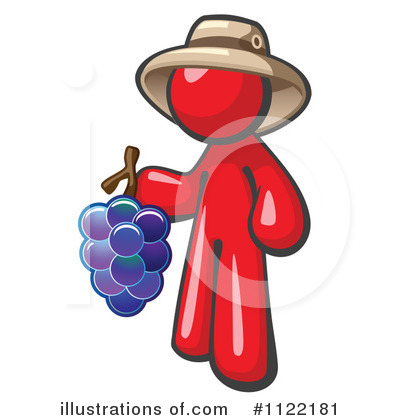 Red Design Mascot Clipart #1122181 by Leo Blanchette