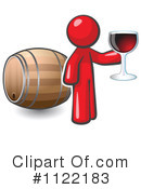 Royalty-Free (RF) Wine Clipart Illustration #1122183