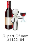 Royalty-Free (RF) Wine Clipart Illustration #1122184