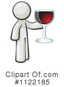 Royalty-Free (RF) Wine Clipart Illustration #1122185