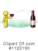 Royalty-Free (RF) Wine Clipart Illustration #1122190