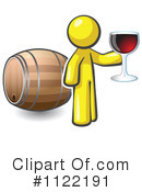 Royalty-Free (RF) Wine Clipart Illustration #1122191