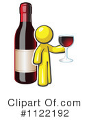 Royalty-Free (RF) Wine Clipart Illustration #1122192