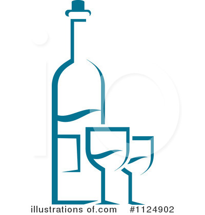 Winery Clipart #1124902 by Vector Tradition SM