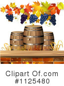 Royalty-Free (RF) Wine Clipart Illustration #1125480