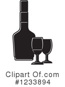 Wine Clipart #1233894 by Lal Perera