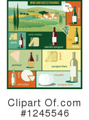 Wine Clipart #1245546 by Eugene