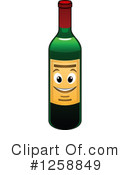 Wine Clipart #1258849 by Vector Tradition SM