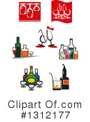 Wine Clipart #1312177 by Vector Tradition SM