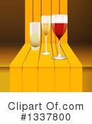 Royalty-Free (RF) Wine Clipart Illustration #1337800