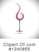 Wine Clipart #1340855 by ColorMagic