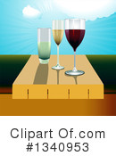 Royalty-Free (RF) Wine Clipart Illustration #1340953