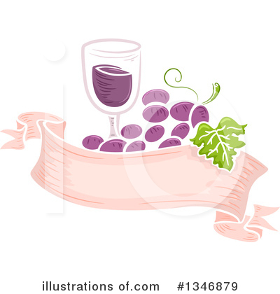 Wine Clipart #1346879 by BNP Design Studio