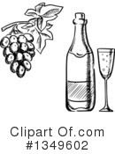 Wine Clipart #1349602 by Vector Tradition SM