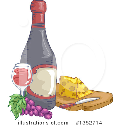 Wine Clipart #1352714 by BNP Design Studio