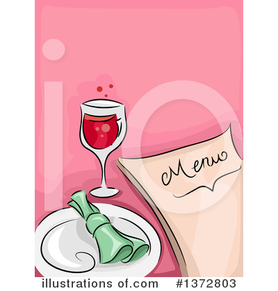 Royalty-Free (RF) Wine Clipart Illustration by BNP Design Studio - Stock Sample #1372803