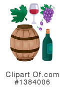 Royalty-Free (RF) Wine Clipart Illustration #1384006