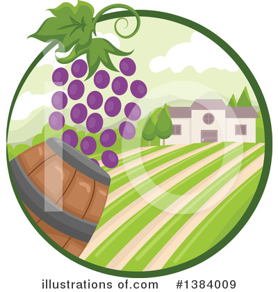 Winery Clipart #1384009 by BNP Design Studio