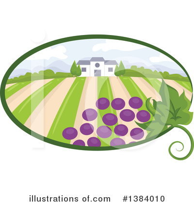 Winery Clipart #1384010 by BNP Design Studio