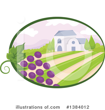 Winery Clipart #1384012 by BNP Design Studio