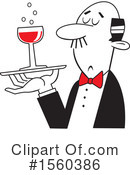 Wine Clipart #1560386 by Johnny Sajem