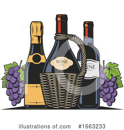Wine Clipart #1663233 by Vector Tradition SM