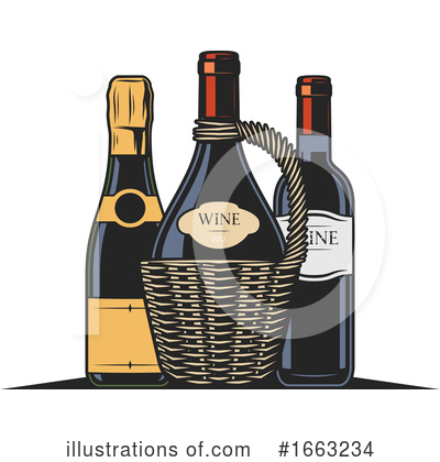 Wine Clipart #1663234 by Vector Tradition SM