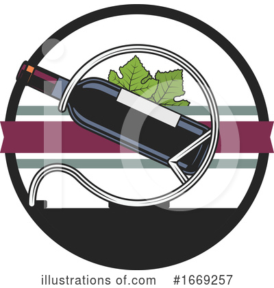 Wine Clipart #1669257 by Vector Tradition SM
