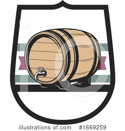 Wine Clipart #1669259 by Vector Tradition SM