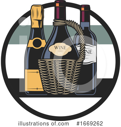 Wine Clipart #1669262 by Vector Tradition SM