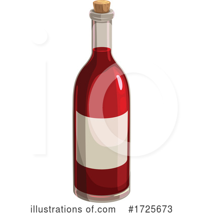 Royalty-Free (RF) Wine Clipart Illustration by Vector Tradition SM - Stock Sample #1725673