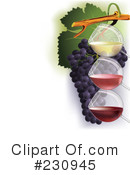 Wine Clipart #230945 by Eugene