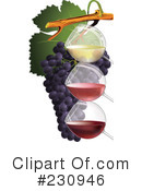 Wine Clipart #230946 by Eugene