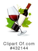 Royalty-Free (RF) Wine Clipart Illustration #432144