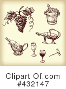 Wine Clipart #432147 by Eugene