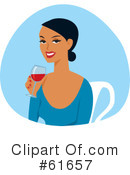 Wine Clipart #61657 by Monica