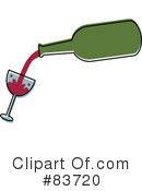 Royalty-Free (RF) Wine Clipart Illustration #83720