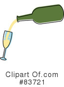 Royalty-Free (RF) Wine Clipart Illustration #83721