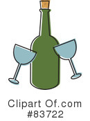 Wine Clipart #83722 by Rosie Piter