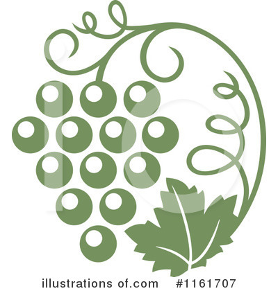 Wine Clipart #1161707 by Vector Tradition SM