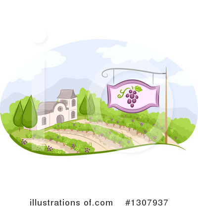 Wine Clipart #1307937 by BNP Design Studio