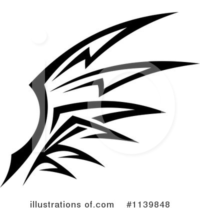 Wings Clipart #1139848 by Vector Tradition SM