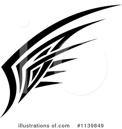 Wings Clipart #1139849 by Vector Tradition SM