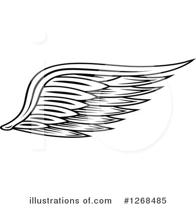 Wings Clipart #1268485 by Vector Tradition SM