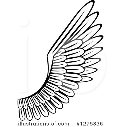 Clip Art Wing Clipart wing clipart 1275836 illustration by vector tradition sm royalty free rf stock sample