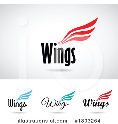 Wing Logo Clipart #1303264 by cidepix
