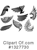 Wing Clipart #1327730 by Vector Tradition SM