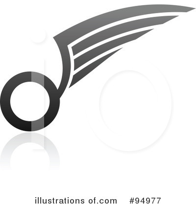 Wing Logo Clipart #94977 by elena