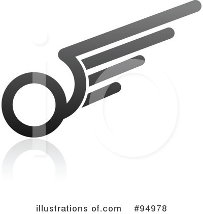 Wing Logo Clipart #94978 by elena